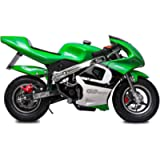 Fit Right 2020 Mini Gas Pocket Bike 02 On 40cc 4 Stroke, Support Up to 165 lbs, EPA Approved, Perfect Mini Pocket Bike…