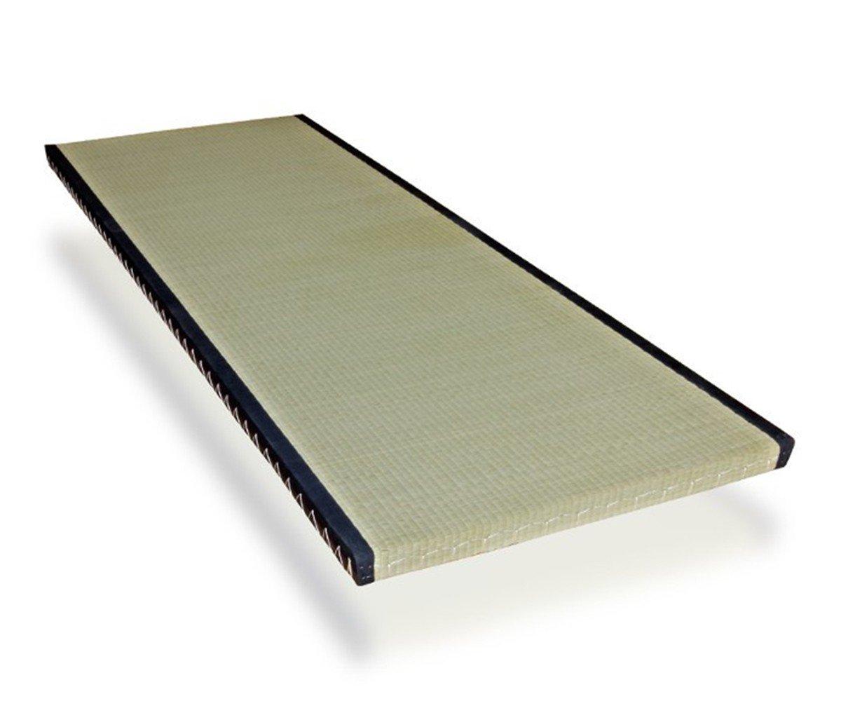 futon-online Tatami Standard japanische Matte Bodenmatte Reisstrohmatte Igusa-Gras, Größe:80 x 200 cm, Anzahl:3 x Tatamis
