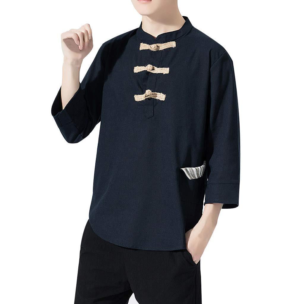 Amazon.com: Camiseta de manga 3/4 para hombre de la marca ...