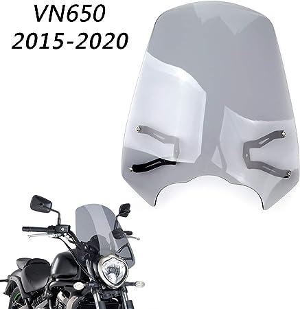 Topteng Motorrad Windschutzscheibe Sport Windschutzscheibe Mit Abs Aerodynamik Design Für Ka Wa Sa Ki Vulcan S 650 2015 2018 Auto