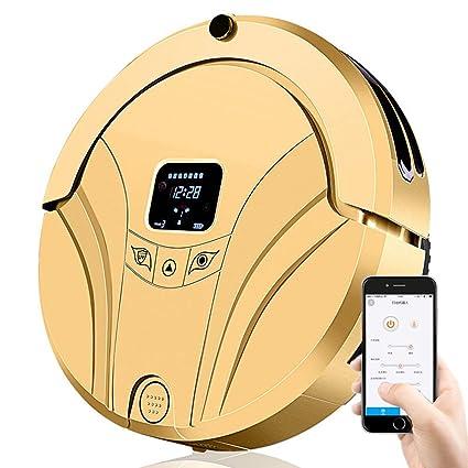 HAIT Aplicación De Teléfono Inteligente Móvil Inteligente Robot Inteligente Aspiradora Doméstica,Gold