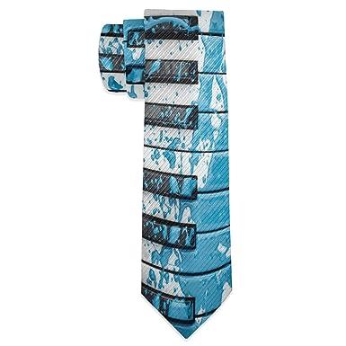 Wamika Piano Corbatas finas y delgadas para hombre, corbata de ...