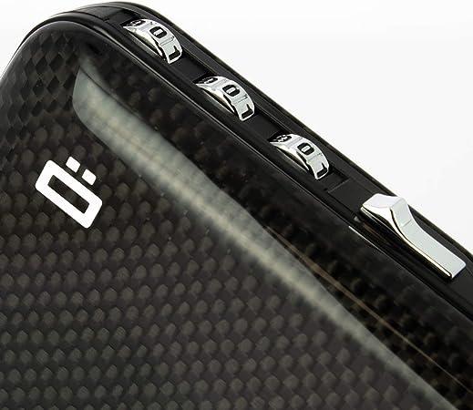 Ögon code Wallet Aluminium étui Porte-monnaie RFID pour jusqu/'à 14 cartes Safe