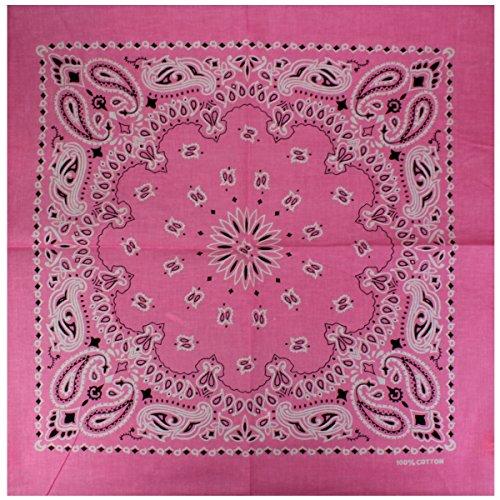 Bandanas 12 Rose Designs Au Original Choix Exclusif Avec Paisley Flittner Motif De Alex Couleur Lot BXABI