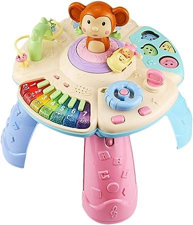 Mesa de Aprendizaje Musical Juguetes para bebés, 6 a 12 Meses de ...