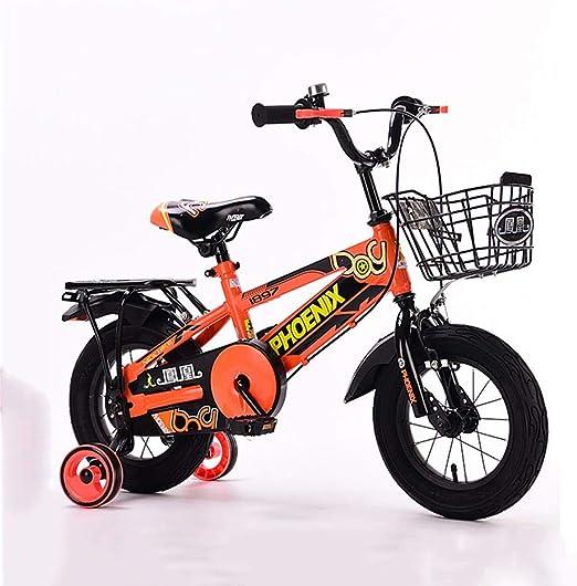DT Bicicleta para niños 4-5-6-7-8-10 años Niño Cochecito de bebé ...