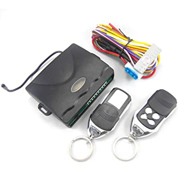 Central Keyless Door Lock Central Locking System With Car Remote Control Alarm Systems Remote Control Central Kit Locking Switch Controllers Atv,rv,boat & Other Vehicle
