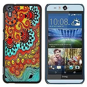 Dragon Case - FOR HTC Desire EYE M910x - enough to me - Caja protectora de pl??stico duro de la cubierta Dise?¡Ào Slim Fit