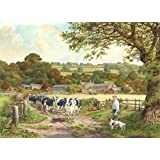 1000 Piece DeLuxe Jigsaw Puzzle - Fresh Pastures