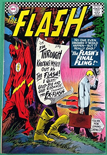FLASH (1959) #159 VF- (7.5) Dr. Midnite ()