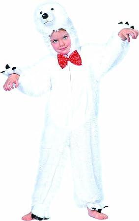 Wilbers Junior Disfraz de oso polar para niños (11 – 12 años ...