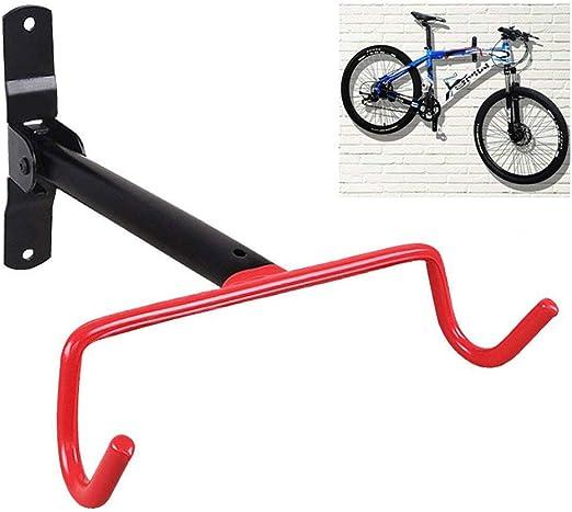 De doble gancho gancho plegable Garaje pared de bicicletas de suspensión de montaje en pared plegable bicicleta titular de bicicletas garaje para guardar bicicletas ...