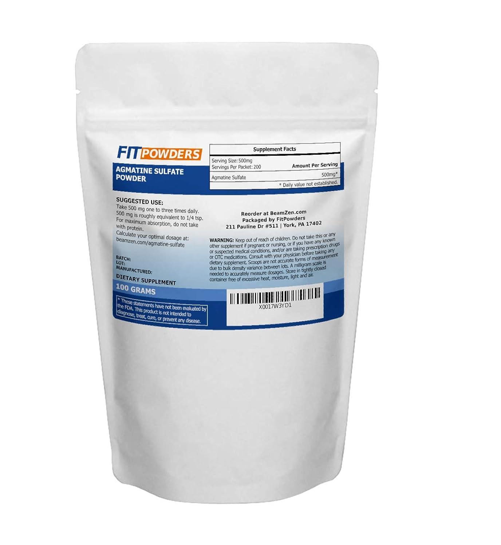 Powder City Agmatine Sulphate Powder (100 Grams)