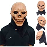 Molie Halloween Latex Skull Mask Novelty Cosplay Costume Party Horror Mask