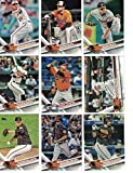2012,2013,2014,2015,2016,2017 Topps Baltimore Orioles Baseball Card Team Sets (Complete Series 1 & 2 From All Six Years ) inc. Mark Trumbo, Chris Davis, Manny Machado,100+ cards shipped in acrylic cases