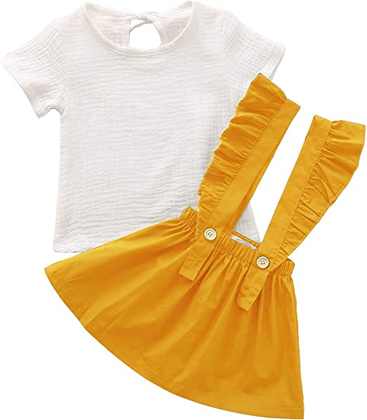 XINXINHAIHE Infant Kid Boy Summer Casual Outfit 2pcs Cartoon Shirt Top+Shorts Pants Set