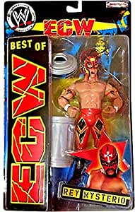 Best of ECW & WCW Wrestling Action Figure Rey Mysterio #1 [Red Mask & Pants]