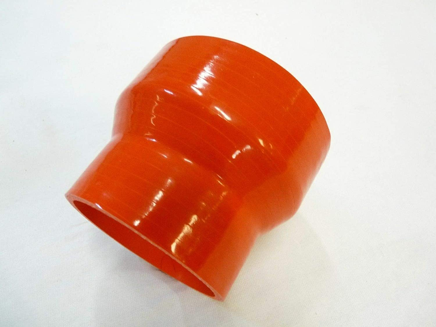 OBX Silicon Reinforced Reducer Coupler 3.5-4.5 Red Heavy Duty