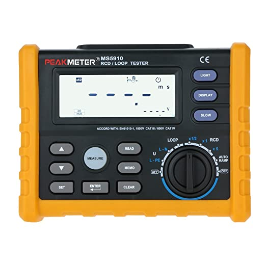 12 opinioni per KKmoon MS5910 RCD/LOOP Tester Circuito \ Professionale Digitale 0-440V AC