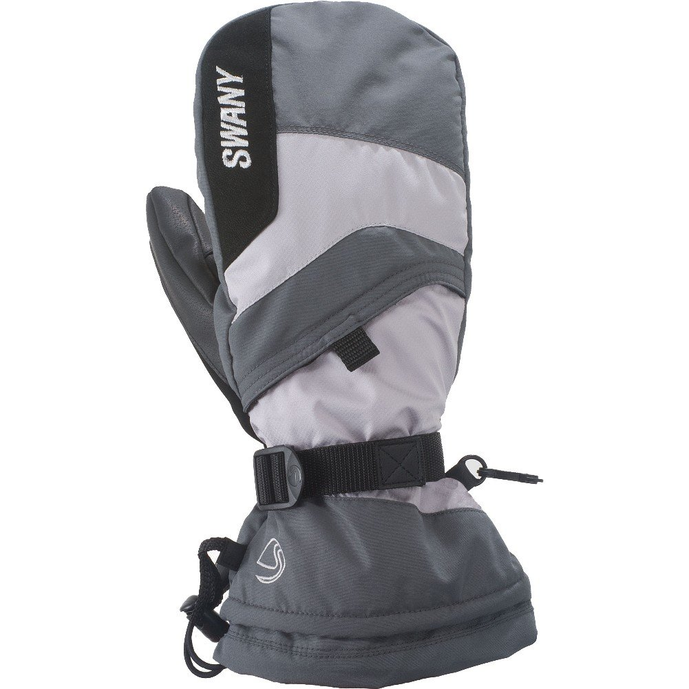 Swany X-Over Jr. Mitt Youth Medium Grey/Light Grey L by SWANY