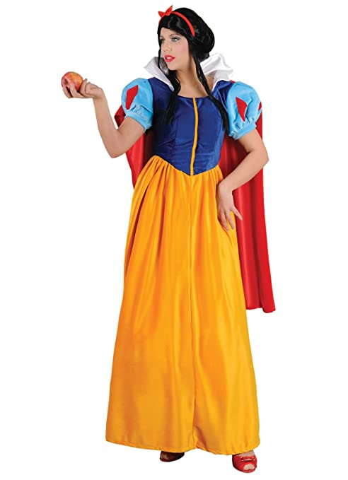 42f578a99bfec Stamco - Costume da Principessa Biancaneve per Adulti  Amazon.it ...