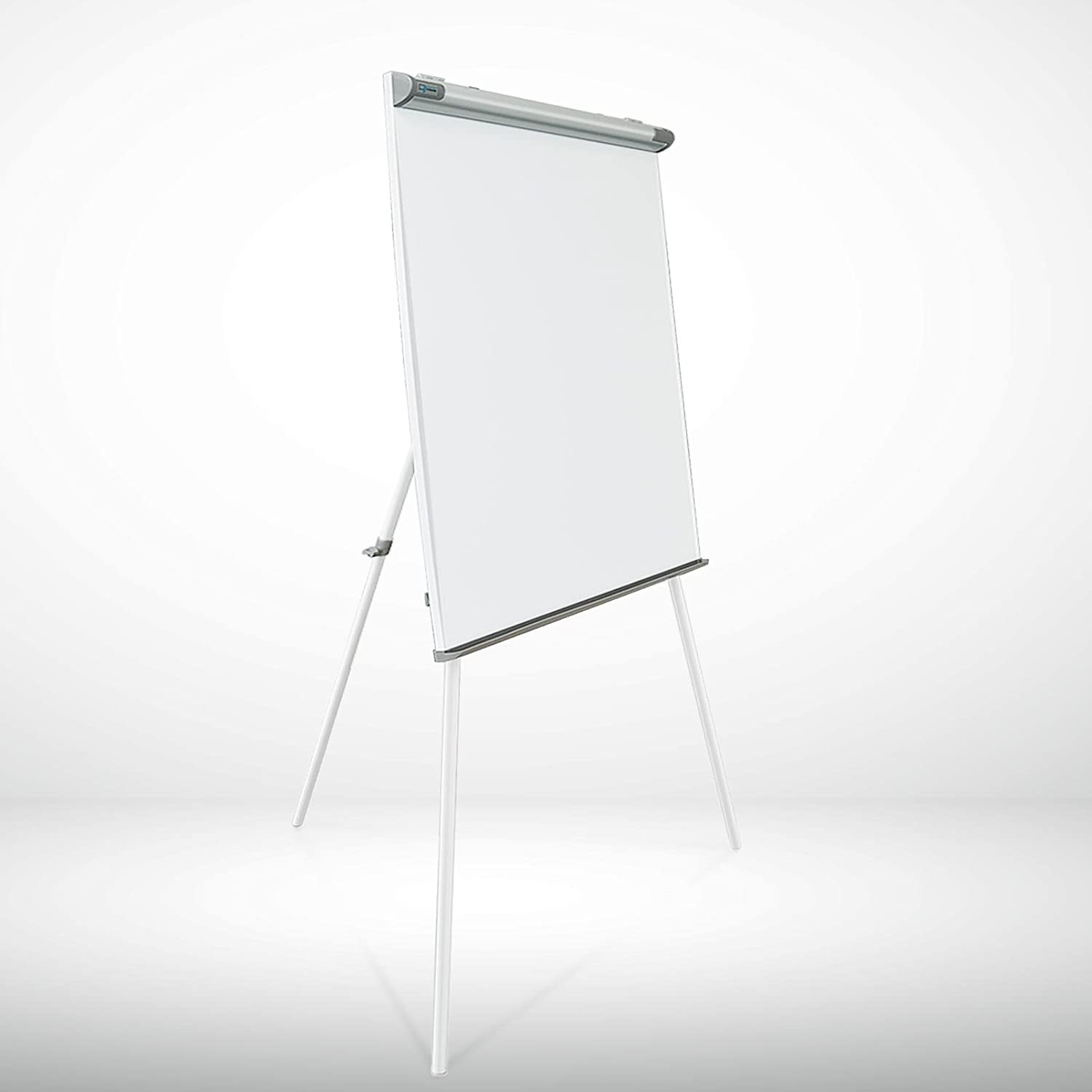 Master of Boards Flip Chart Easel - Dry Erase Easel Rolling White board on Wheels | Easy Setup | Magnetic | 26x41 4058171033903