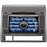 2005-12 Toyota Tacoma In-Dash Navigation Stereo DVD CD GPS Radio 7 Inch Touchscreen Display Bluetooth Hands Free A2DP Audio Streaming AV Receiver USB SD iPod iPhone Ready Deck 05 06 07 08 09 10 11 12