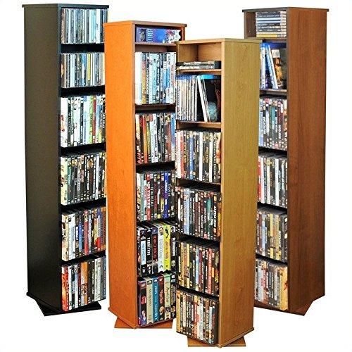 Multimedia Storage Rack Wall Unit - 8