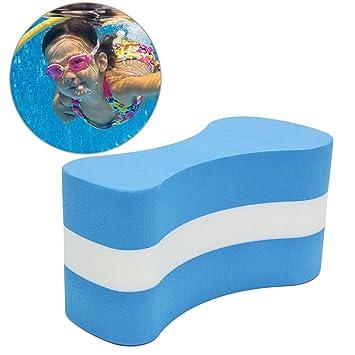 UxradG Pizarra de espuma con flotador para niños, adultos, piscina, natación, seguridad, entrenamiento caliente, azul: Amazon.es: Deportes y aire libre