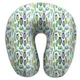 Gtrgh Mexican Tropical Super U Type Pillow Neck Pillow Outdoor Travel Pillow Relief Neck Pain