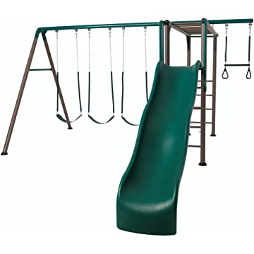 powerful Lifetime Monkey Bar Playset