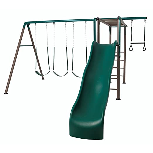 Lifetime Monkey Bar Adventure Swing Set Review