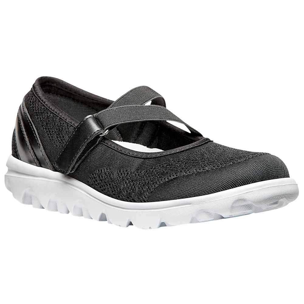 Propet Women's TravelActiv Mary Jane Fashion Sneaker, Black, 12 2E US by Propét