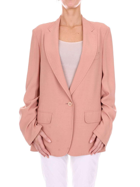 Dries Van Noten Women's 1811048851833025183 Pink Viscose Blazer