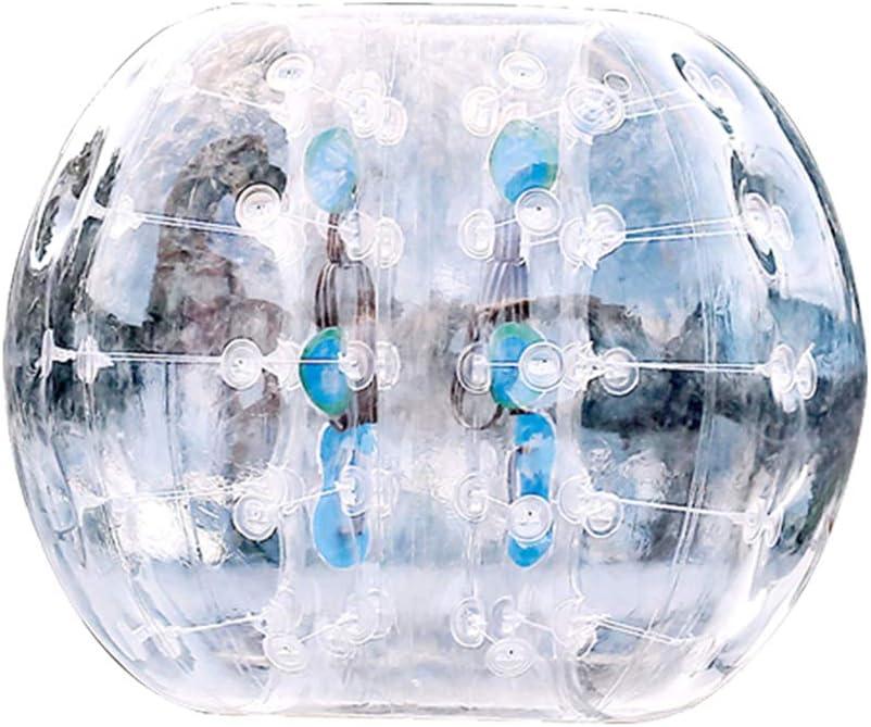 CHEN Bola de Parachoques Inflable 1.5m 5ft Diámetro Bubble Soccer Ball Blow Up Toy, Bola de hámster Humano Gigante para Adultos y Adolescentes