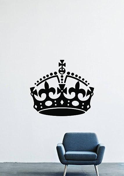 Amazon Com Crown Royal Hat Gold Cross Wall Decals Decor Vinyl
