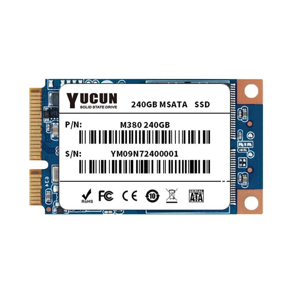 YUCUN MSATA III 240GB Internal Solid State Drive for table PC by YUCUN