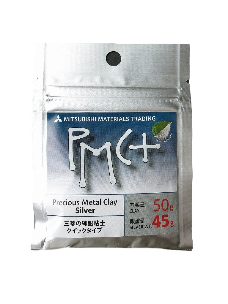 Mitsubishi Precious Metal Clay PMC+ 50 grams(Silver 45 grams) Japan Import by PMC
