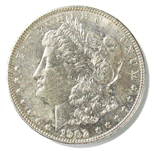 1902 Morgan Silver Dollar $1 VF+