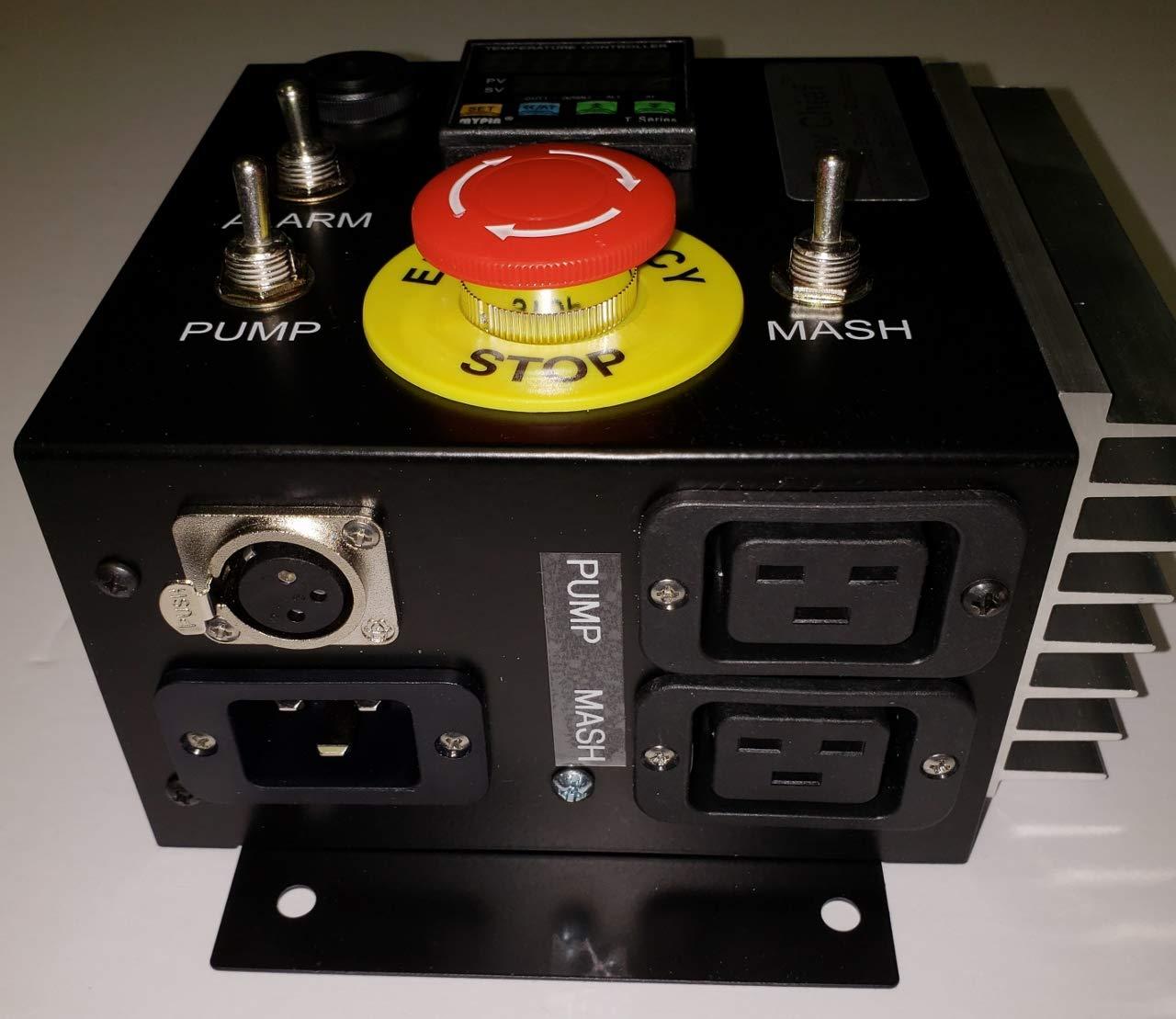 International 220/230/240v 50/60 Hz Mash Tun/RIMS (Recirculating Infusion Mash System) Tube Controller by Stir-Plate (Image #6)