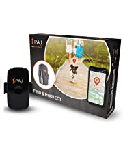 Mini Finder de PAJ- Marca Alemana- Localizador GPS para Niños, Personas Mayores, Perros, Gatos, Drones y Bolsos. Tracker - Variante Localización con App