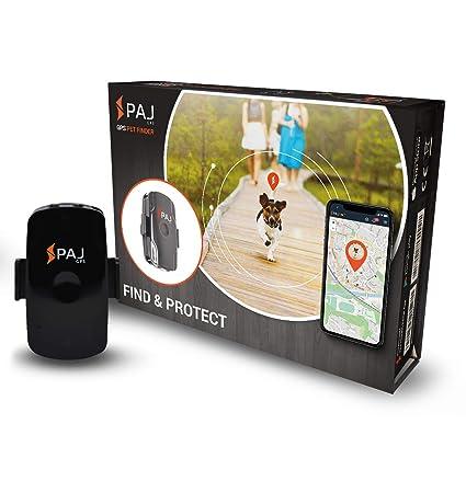 Pet Finder de PAJ- Marca Alemana- Localizador GPS Perros y Gatos y Mascotas. Tracker Robusto y Ligero- Seguimiento en Vivo y en Directo con App para ...