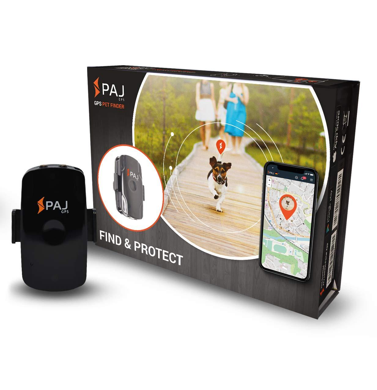 Mini Finder de PAJ- Marca Alemana- Localizador GPS para Niños, Personas Mayores, Perros, Gatos, Drones y Bolsos. Tracker - Variante Localización con App product image
