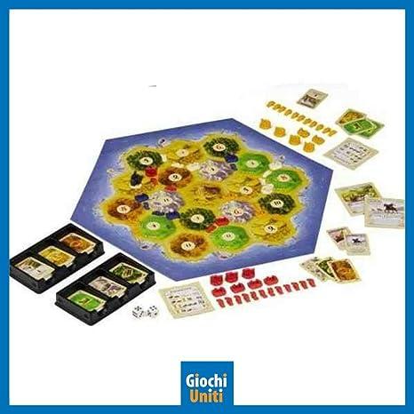Giochi Uniti GU445 - Catan - Il Gioco [versión italiana] , color/modelo surtido: Amazon.es: Juguetes y juegos
