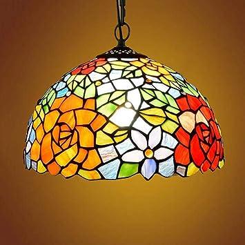 AIBOTY Lámpara De Techo, Tiffany-Style Victorian Art ...