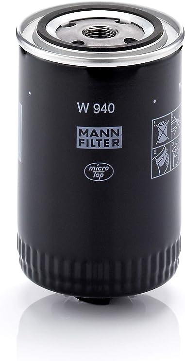 Original Mann Filter Ölfilter W 940 Hydraulikfilter Geeignet Für Automatikgetriebe Für Lkw Busse Und Nutzfahrzeuge Auto