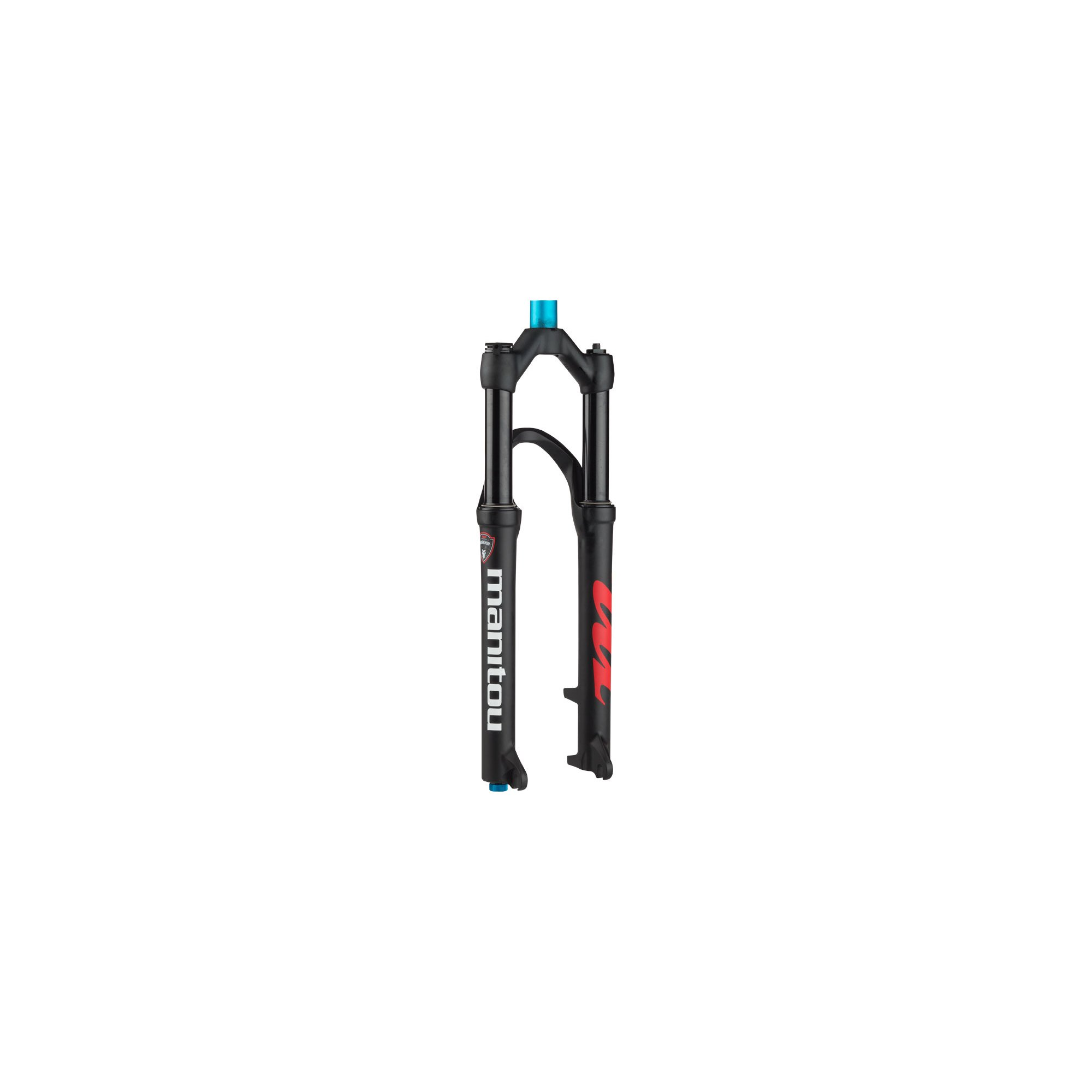 Manitou Markhor Fork 26'' 100mm Travel, 9mm Axle, Matte Black by Manitou