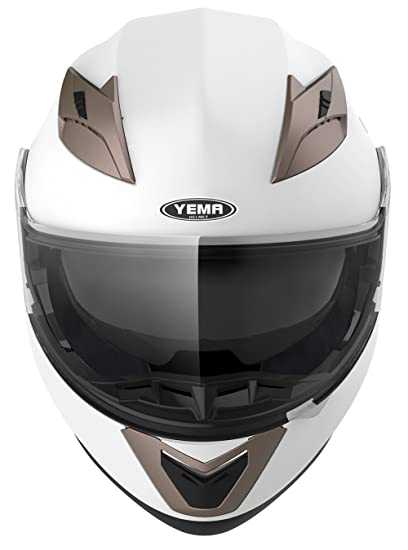 Amazon.com: YEMA Helmet Visor Face Shield for YM-925 and YM-926, Clear: Automotive