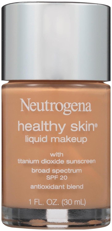 Neutrogena Healthy Skin Liquid Makeup, SPF 20, 105/Caramel, 1 Fluid Ounce