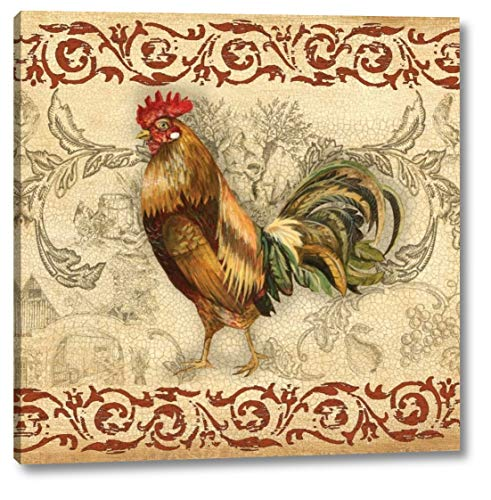 - Toile Rooster I by Gregory Gorham - 12